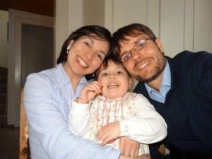 Mayra, Nayeli und Claudio