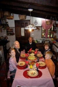 Bei diesem Ehepaar hat Cluadio in Spanien gewohnt als er die Sprachschule besuchte...