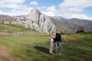 In den Bergen Nordspaniens
