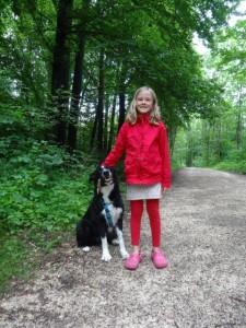 Julia und wieder ein Hund! :-)