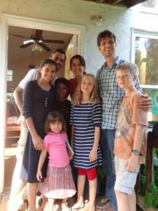 Eine wunderbare, liebevolle brasilianische Familie die wir kennen lernten...