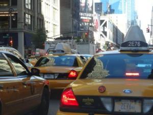 Die bekannten Taxis...