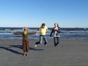 Meine Ccousine Heidi und ihre Familie in Motion! :-)