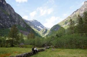 Ein Tal mit Ruhe und doch so vielen Geräuschen der Natur...