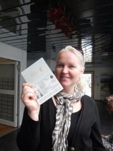 Yea... ich habe wieder einen norwegischen Pass!!!!!!!!!!