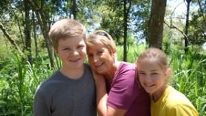 Ja, ja, Mormor und die Enkel!